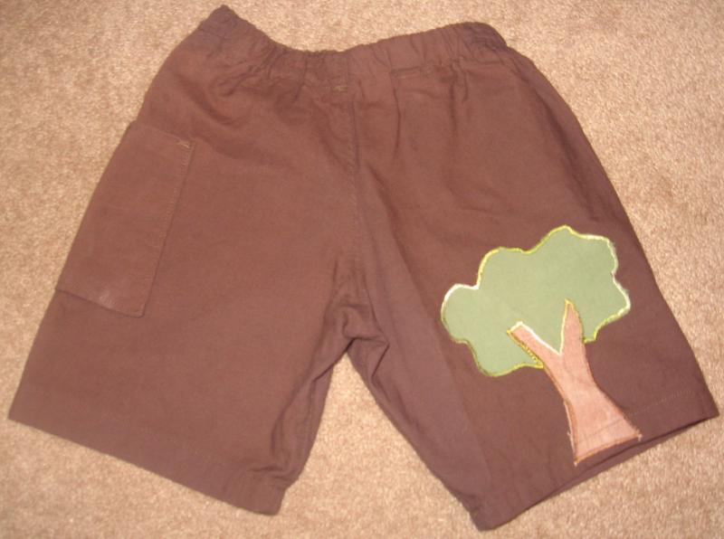 ORGANIC COTTON TREE SHORTS